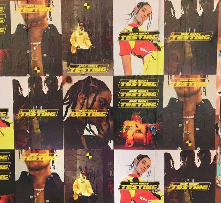 asap rocky poster photoshoot themes