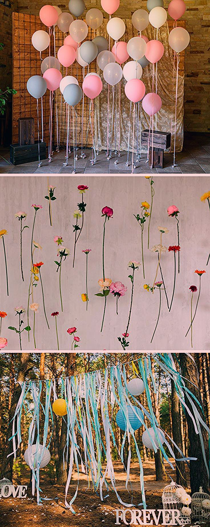 Fotobox für die Hochzeit: 40 coole Fotowand-Ideen - Hochzeitskiste