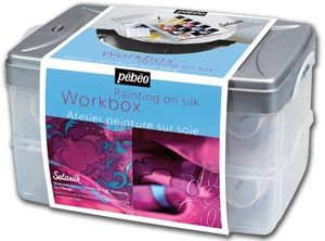 Pebeo Workbox Set Setasilk Silk Painting Silk Painting Work