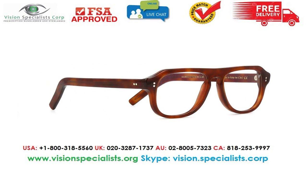6193bfa95fd Cutler And Gross 0822 2 GRCL Ground Cloves Glasses