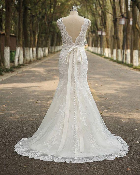 online store cbcbb 5f447 Kappe Hülse Hochzeit Kleid Hochzeit Spitzenkleid von ...
