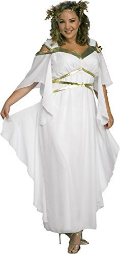 Fashion Bug Costumes Womens Roman Goddess Costume www.fashionbug.us #plussize #fashionbug #costumes