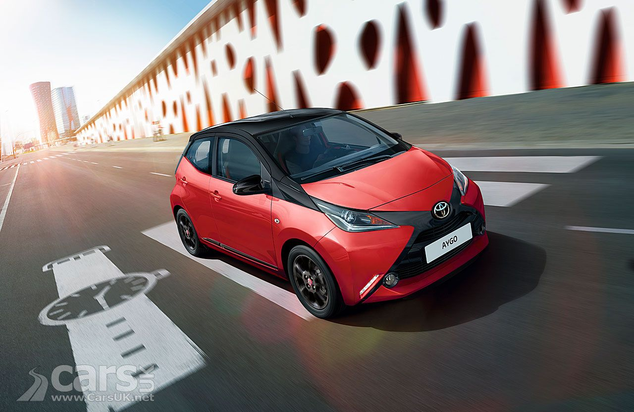 2017 Toyota Aygo X Cite Gets Bigger Spec And Red And Black Paint