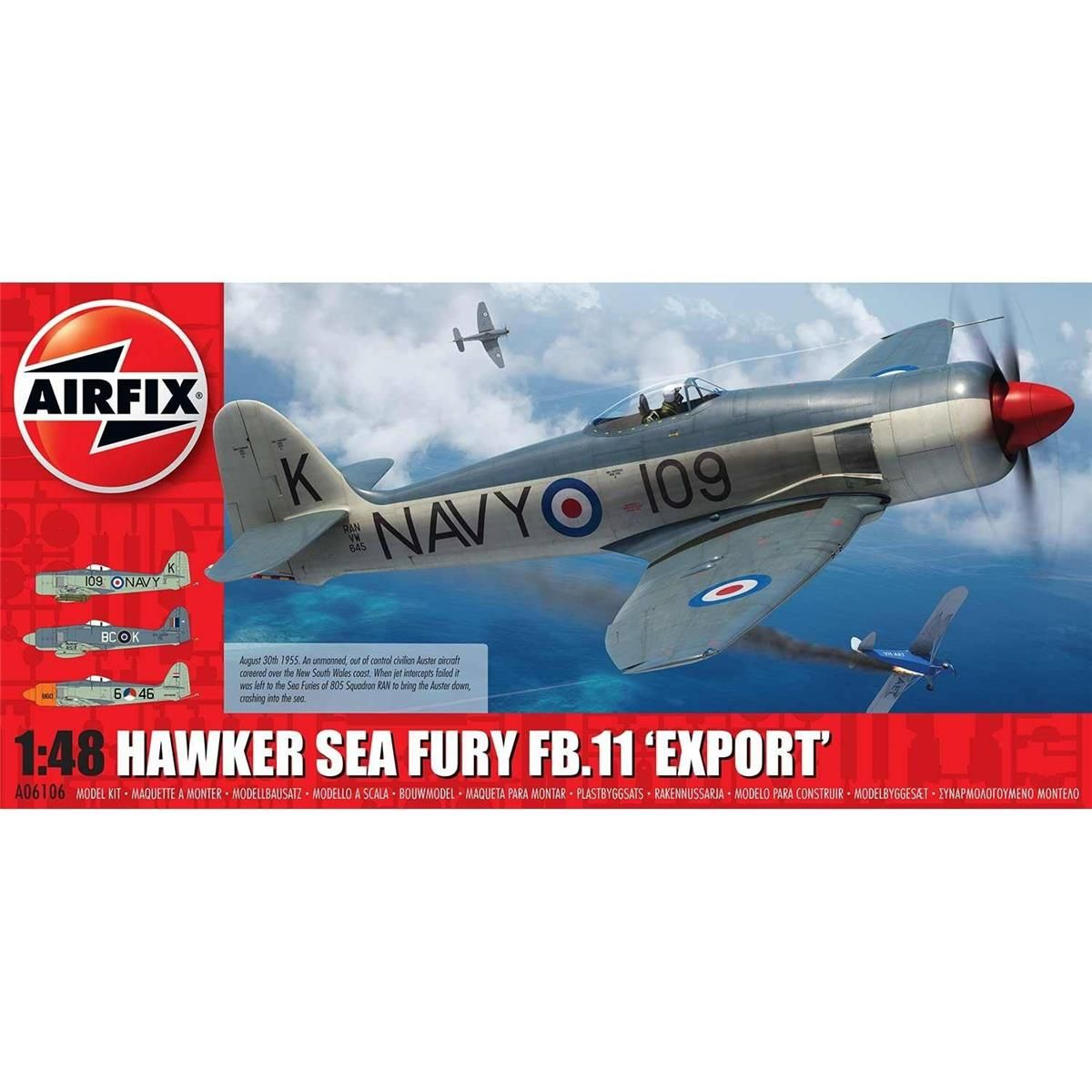 Airfix a06008/a Handley Page Aircraft Company Halifax B MKIII Modell