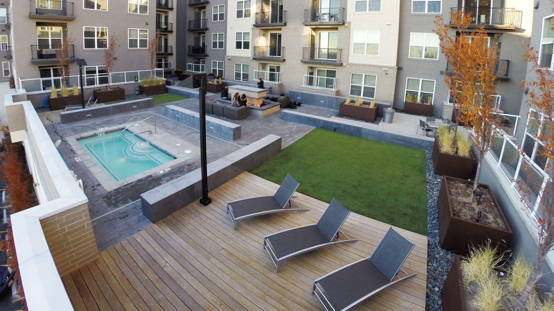 Cityscape Apartments Downtown apartment, Salt lake city