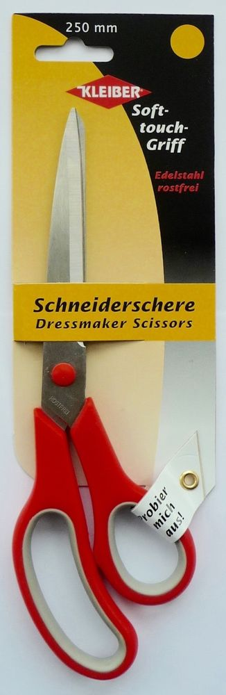 Sewing Scissors Household Kleiber Soft-Touch Stainless Steel Dressmaker