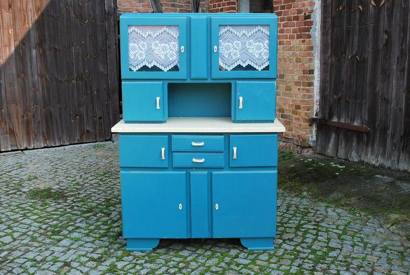 50er jahre k chenbuffet von antikhof sernow auf k chenbuffets farbvarianten. Black Bedroom Furniture Sets. Home Design Ideas