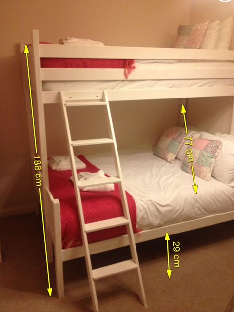 Double Bottom Single Top Bed Bunk Beds For S Room Rooms Cabin Furniture
