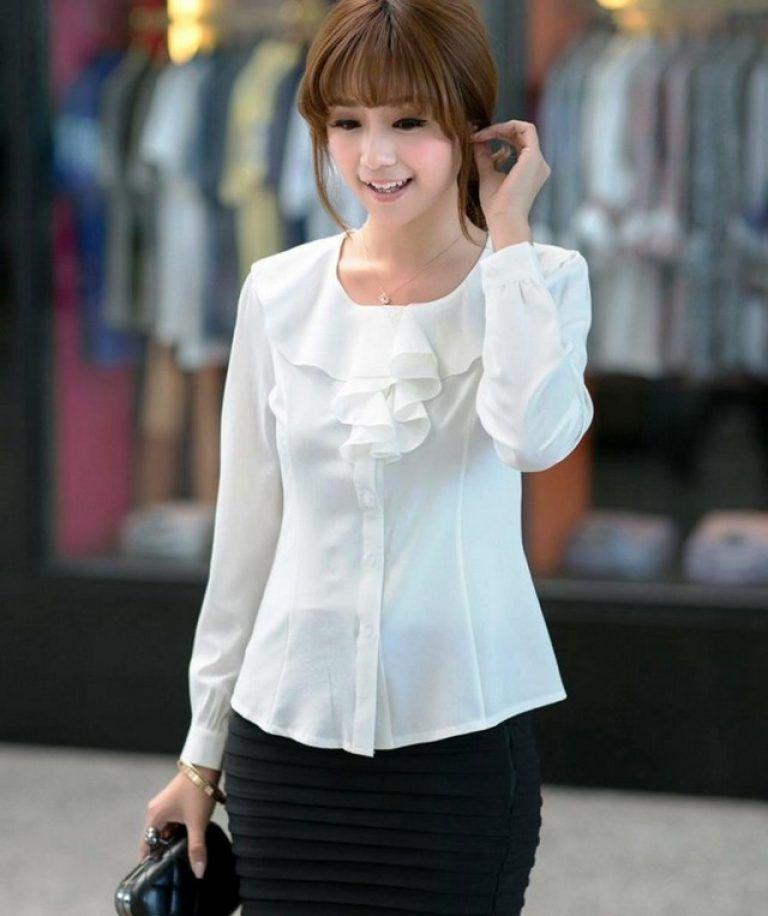 Model Model Baju Atasan Wanita Lengan Panjang Terbaru Baju