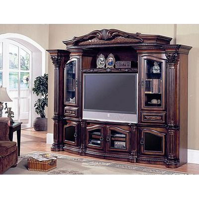 Parker House Grandview Entertainment Center Victorian Style