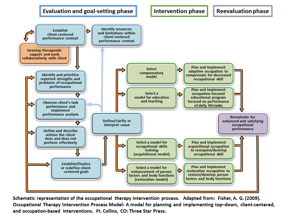 Occupational Therapy Intervention Process Otip Rti Process