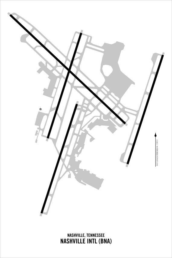 Nashville International Airport Bna Nashville By Threesixright