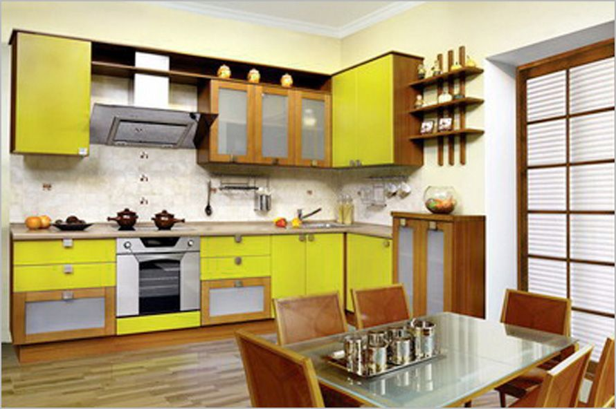 Good Yellow Kitchen Design 7 : Yellow Kitchen Design 7 Part 4