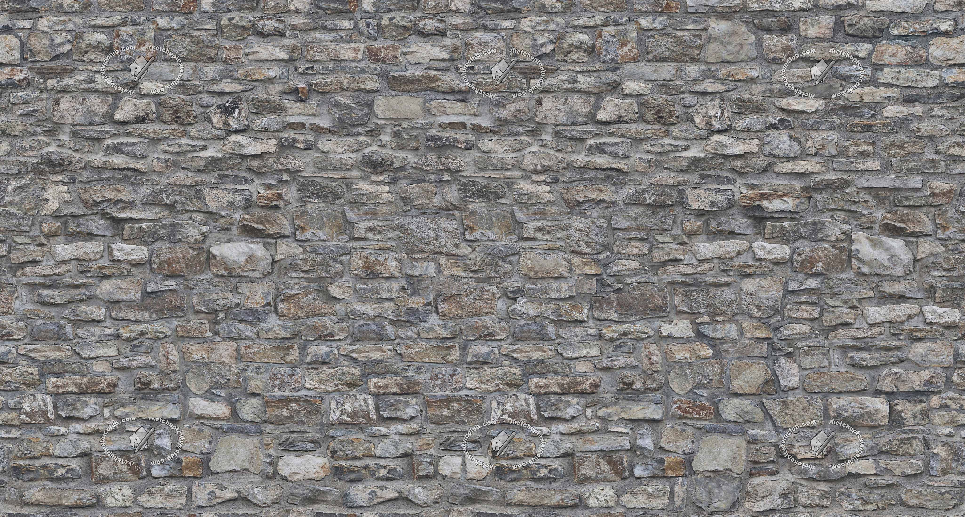 Sketchuptexture Texture Seamless Old Wall Stone Texture