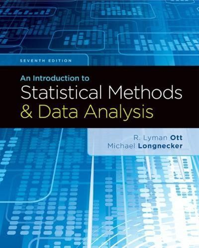 An Introduction To Statistical Methods And Data Analysis Th