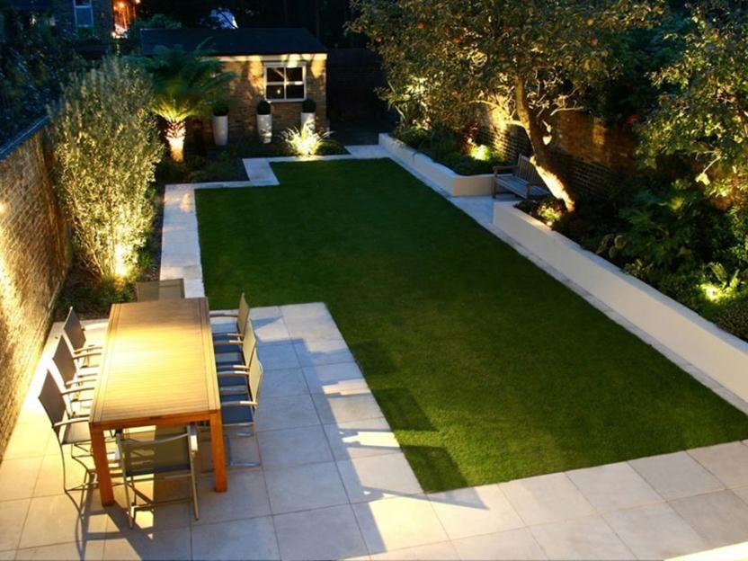 Elegant Landscape Design For Backyard Garden Contemporary Garden
