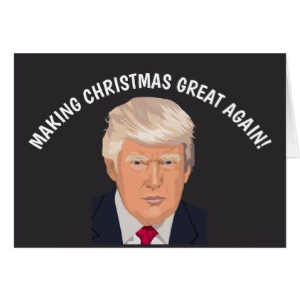 Funny Donald Trump Christmas cards