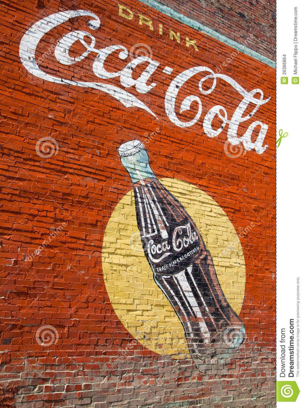 Coca cola wall coke pepsi 7up just soda pop mostly for Coca cola wall mural