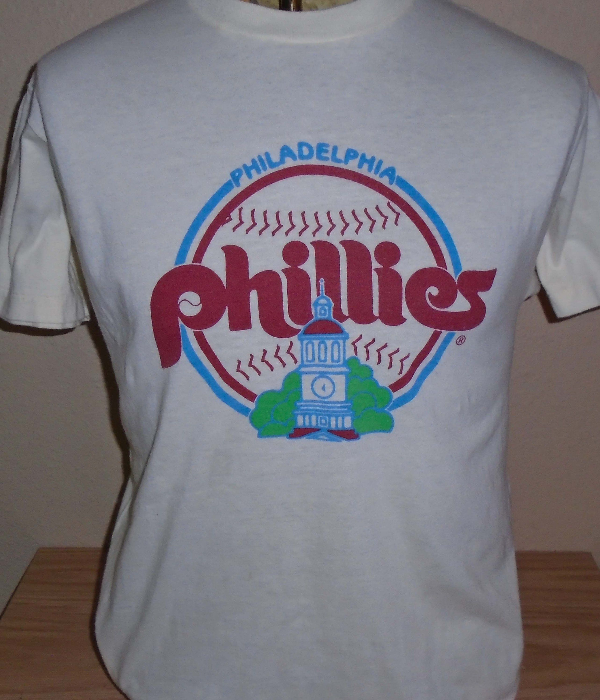 dd494f16 vintage 1980s Philadelphia Phillies baseball t shirt by vintagerhino247 on  Etsy
