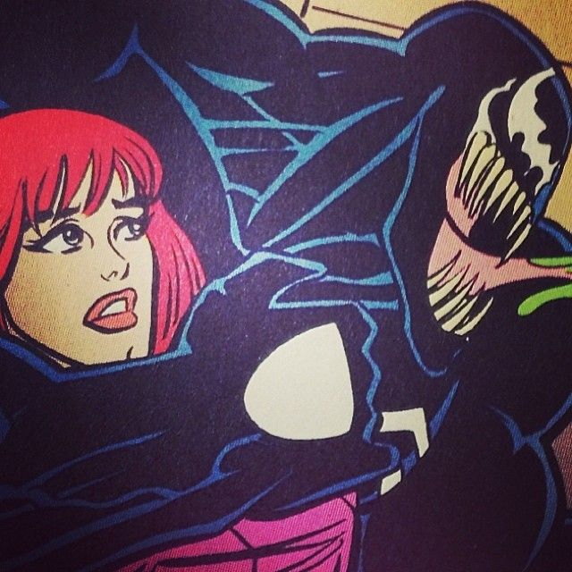 #venom #spiderman #maryjane #spiderman #superhero #comic #cartoon #geek #nerd #anime #marvel #evil #kinap #choke #villain #redhair #ps4 #symbiote #muscle