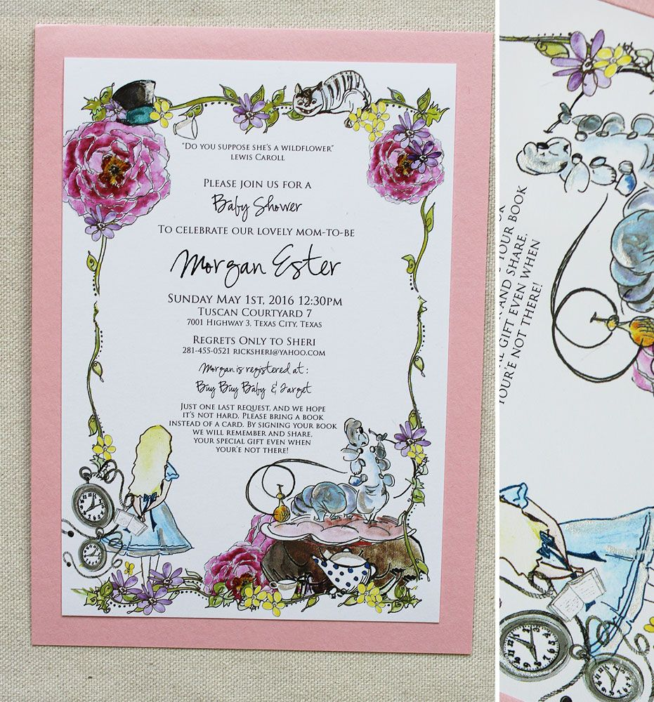 Sheri B Baby Shower Invitations