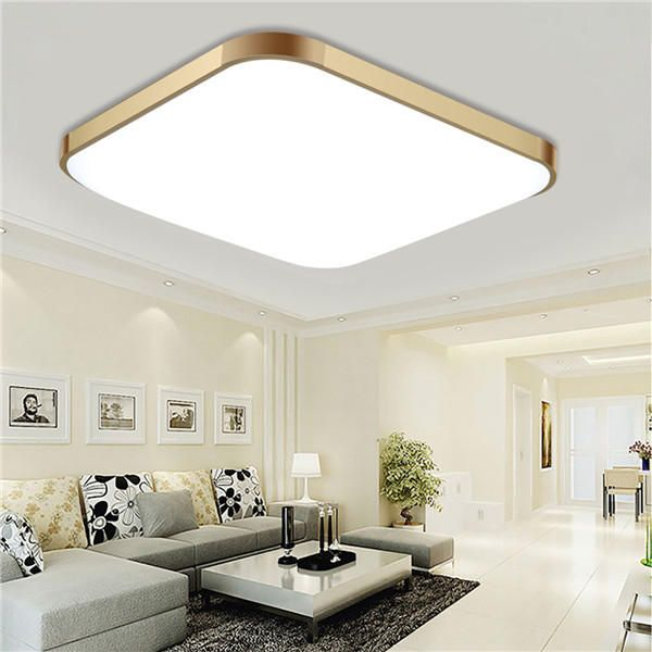 48w 3939cm remote control modern dimming led ceiling light surface mount for bedroom kitchen