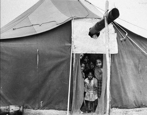 Fayette County Tennessee Tent City in 1960 after Black tenant farmers were forced off their & Fayette County Tennessee Tent City in 1960 after Black tenant ...