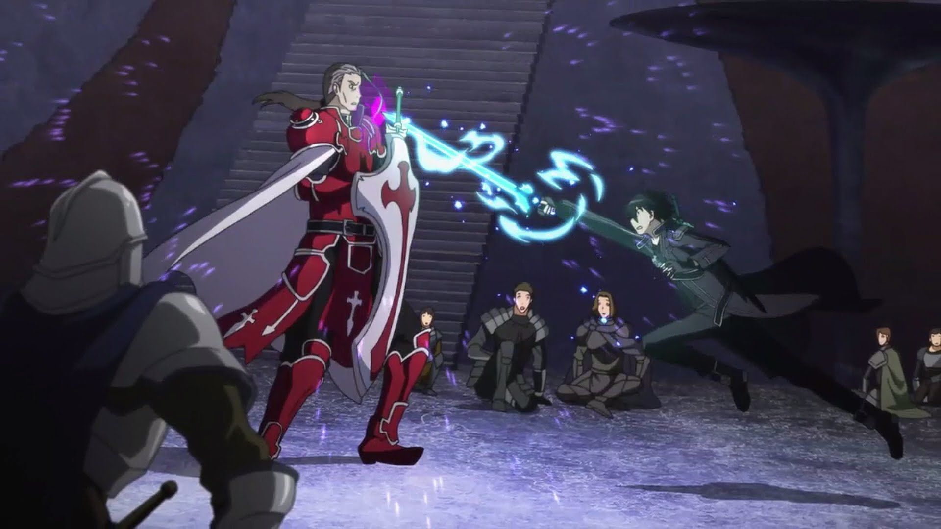 Most Epic Anime Fights 3 Sword Art Online Kirito Vs Kayaba