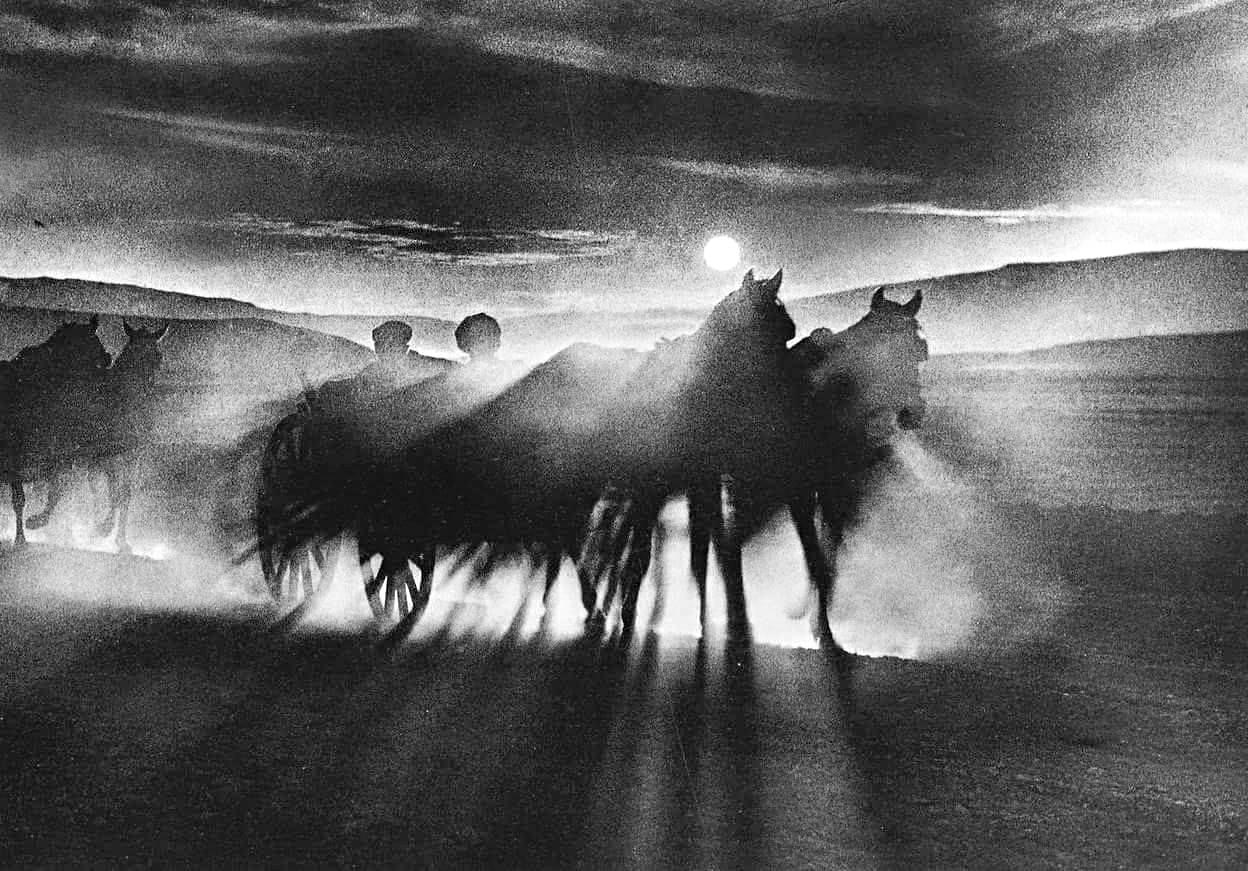 Jean Dieuzaide: Desert Konya, Turkey , 1955   Old photography, Photography,  Photo