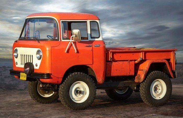 Jeep FC 150 concept.