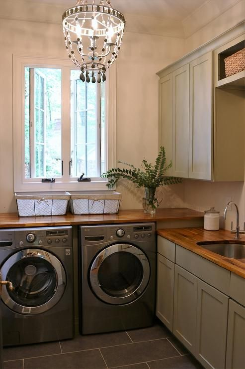 Laundry Room Countertop With Sink