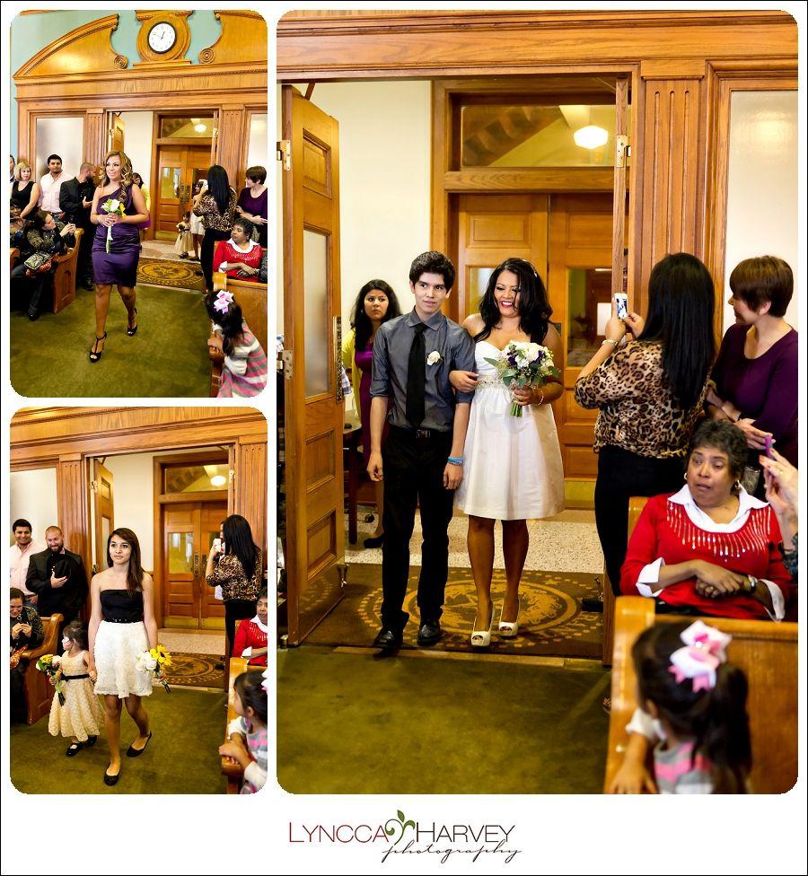 Fort Worth Wedding Photographer Courthouse Lyncca Harvey Photography