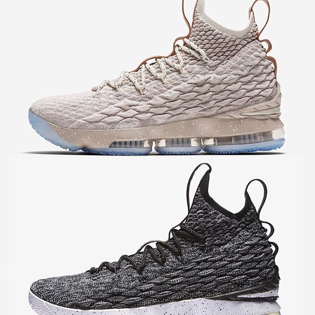 "Top or Bottom  👟 Nike LeBron 15 ""Ghost"" vs. ""Ashes""  c827b2035"