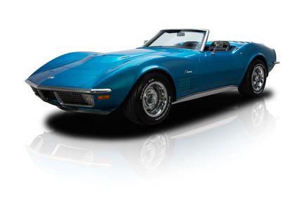 1970 Chevrolet Corvette Stingray Blue