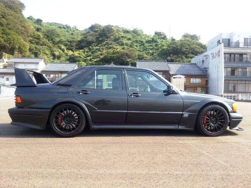 Cosworth 190e Evolution Ii With Images Mercedes Benz 190e
