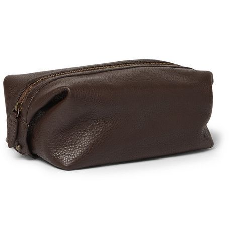 Polo Ralph Lauren Leather Wash Bag | MR PORTER