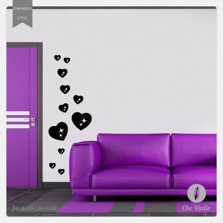 Vinilo corazon 1 encontra los mejores dise os de vinilos decorativos para tu hogar decora tus - Los mejores vinilos decorativos ...