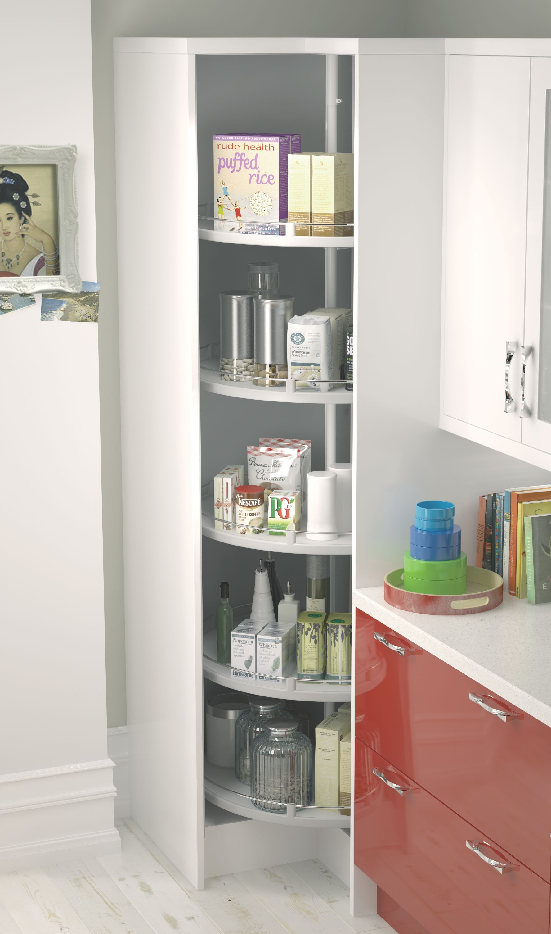 B&Qwhite Storage System Departments DIY at B&Q