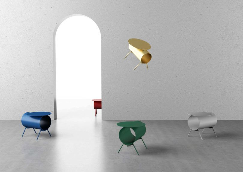 mario tsai s pig side table was inspired by the piggy bank design rh pinterest com