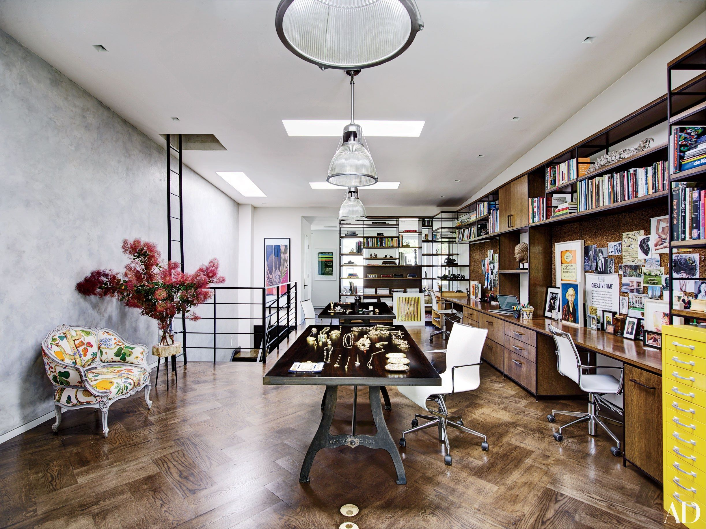 Offices of Fashion Industry Insiders: Diane von Furstenberg, Reed Krakoff, and More Photos | Architectural Digest