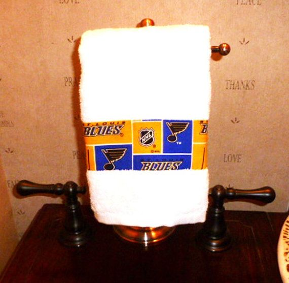 Home Decor St Louis Mo: Hand Towel Made With ST. LOUIS Blues NHL Licensed By