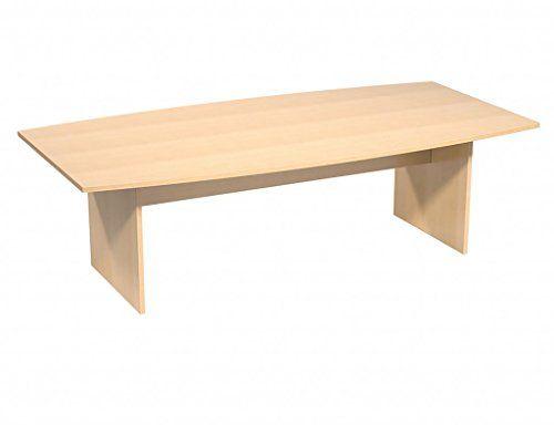 Bureau éléphant premium en forme de tonneau réunion table en hêtre