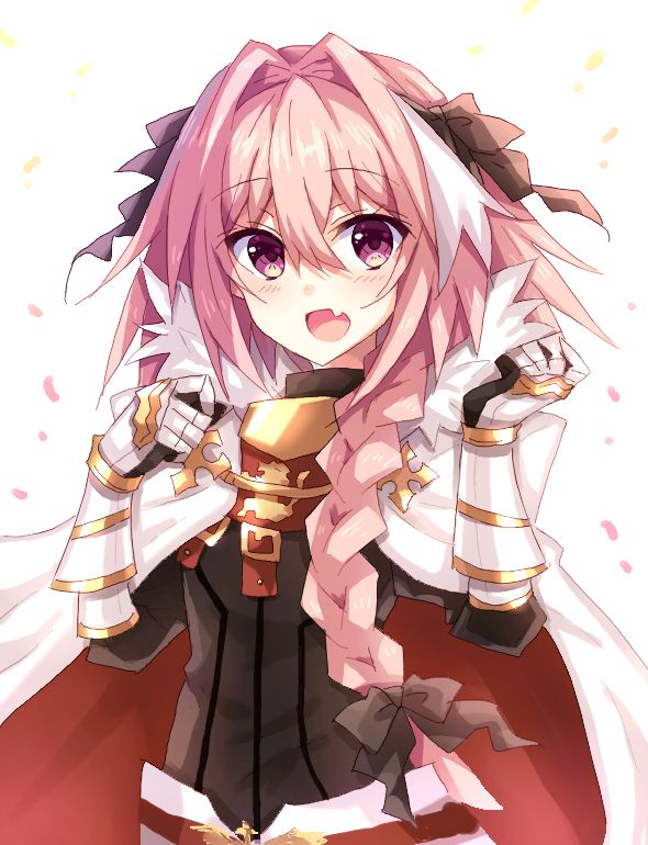 Fate Apocrypha Pink Haired Cat