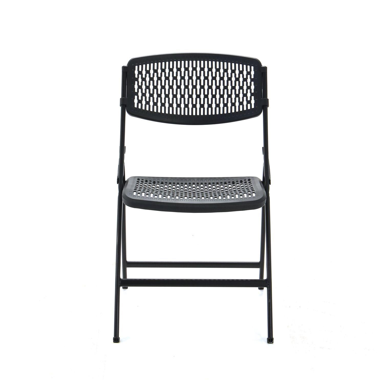 Outstanding Mity Lite Flex One Folding Chair Black Sams Club Inzonedesignstudio Interior Chair Design Inzonedesignstudiocom