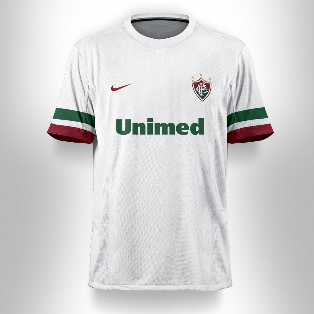 eeb4659ae75f3 Camisa Brnaca Fluminense F.C. Alternativo Nike  camisa  fluminense   alternativa  nike