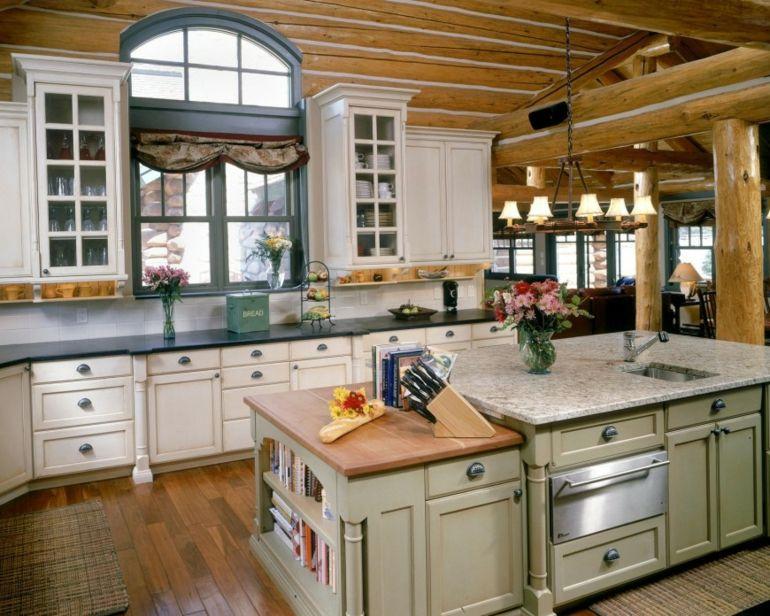 Decoración de cocinas rústicas - 50 ideas originales ...