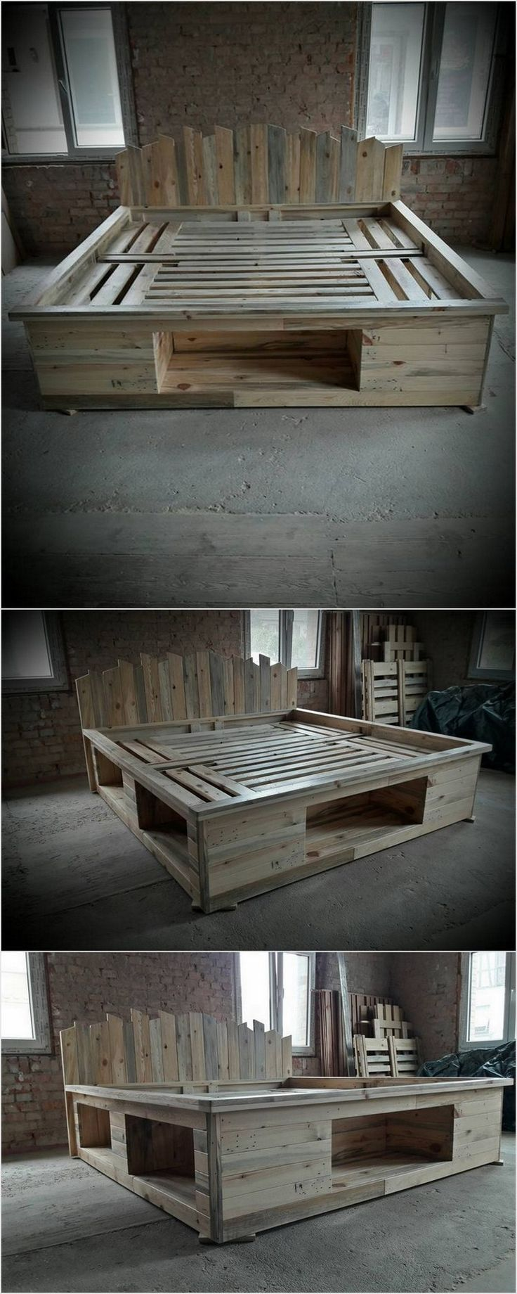 Price Worthy Awesome Shipping Pallet Recycling Ideas | Camas, Palets ...
