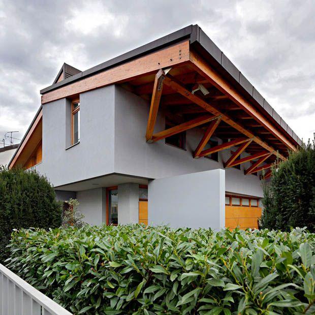 Pin By Nora Mhaouch On Dream Houses: หลังคาบ้าน โครงสร้างไม้ เมทัลชีท