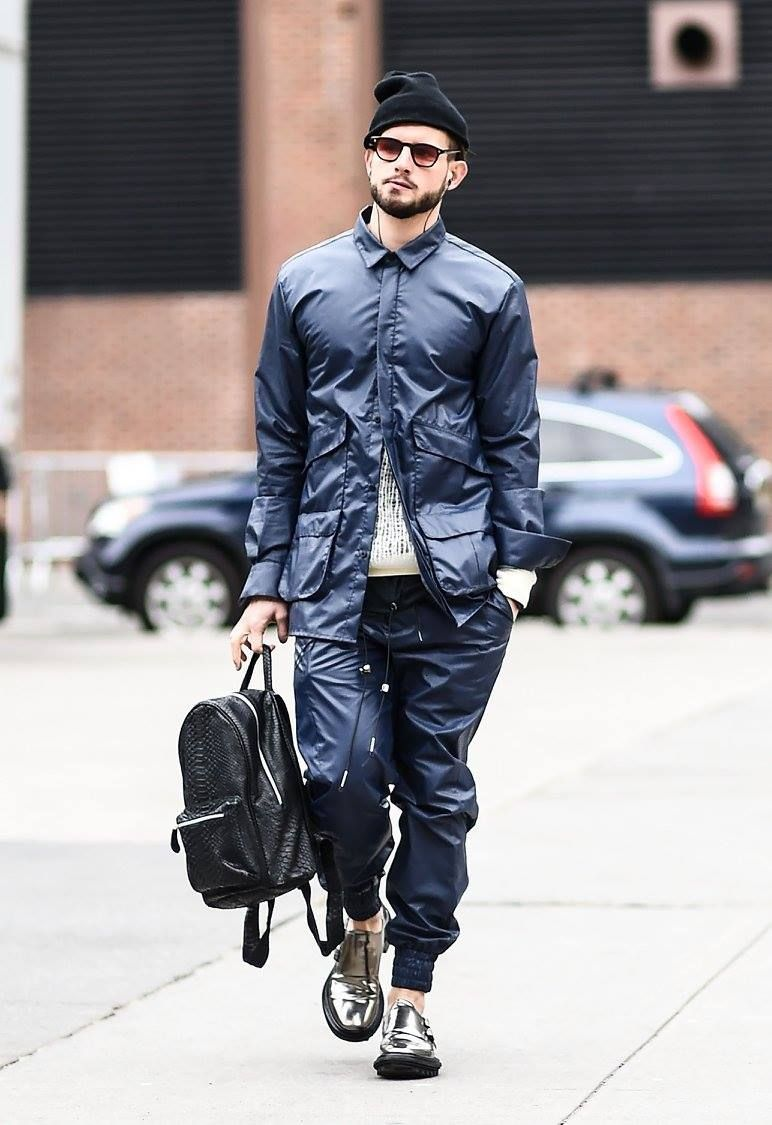 Photo of Nico was out and about for New York Fashion Week! Click to discover Nico Tortore…