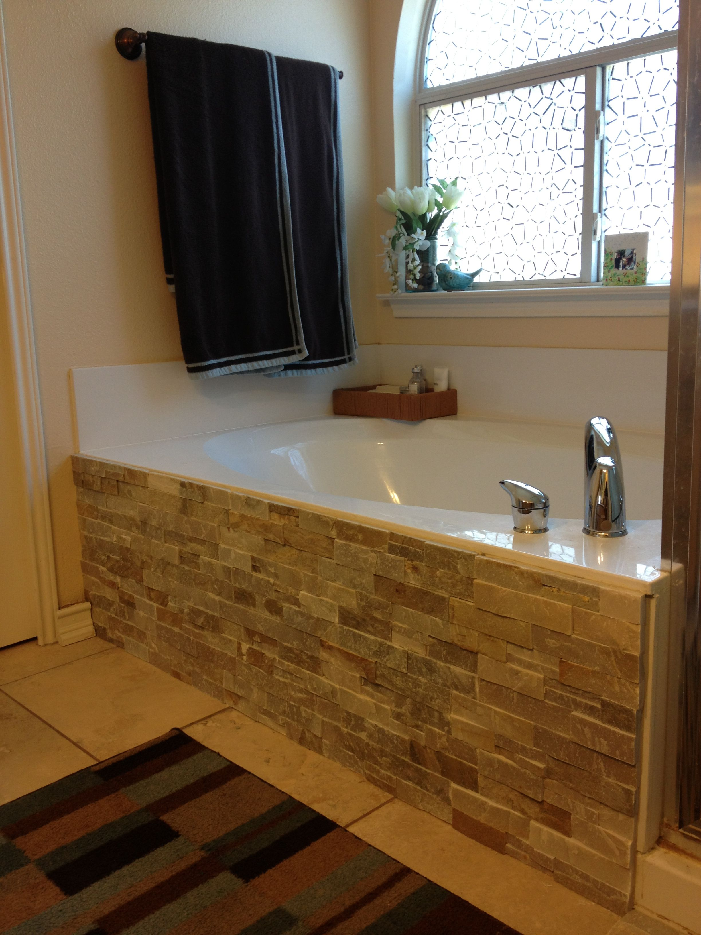 backsplash tile and adhesive glue to